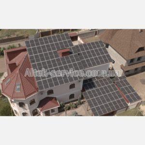 Солнечная станция 50 кВт. Общий вид 1.