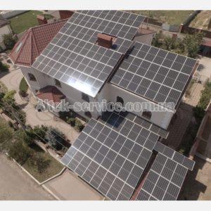 Солнечная станция 50 кВт. Общий вид 2.
