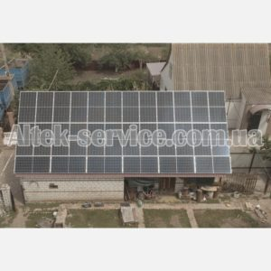 Солнечная станция 36 кВт. Секция 2.